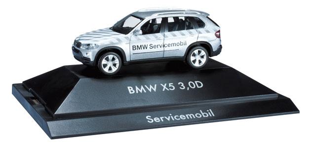 BMW X5 - BMW Servicemobil