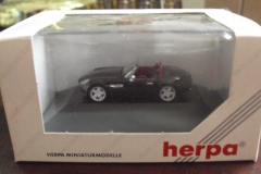 Herpa Private Collection HO 187 Black BMW Alpina Roadster V8 Car NIP 7